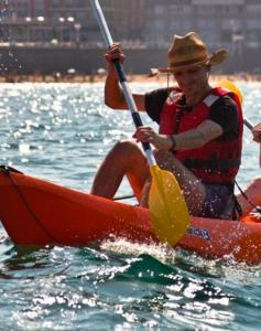 Kayak de mar 15€