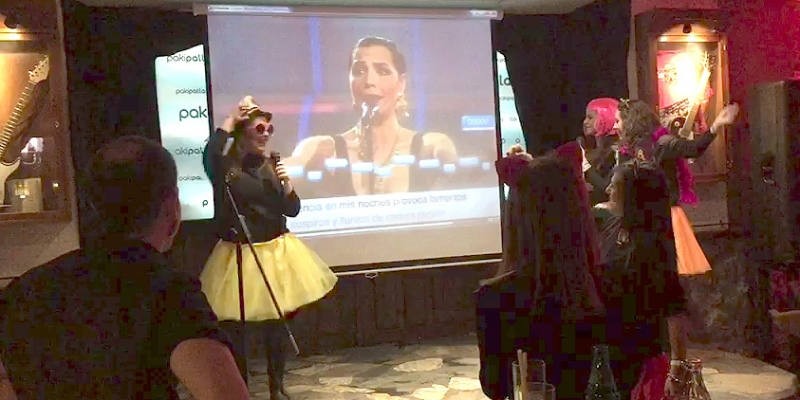 Gymkana Karaoke en Salamanca, Eventura.